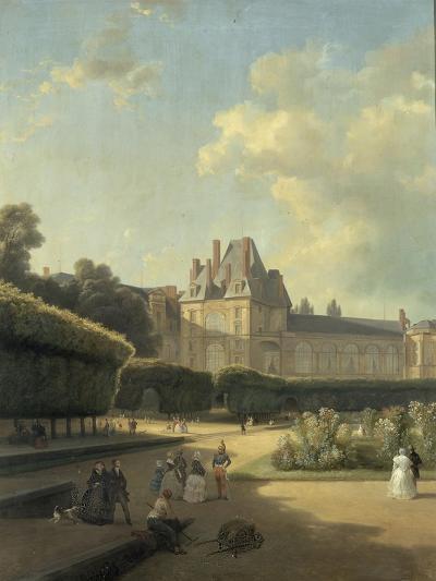 Vue du pavillon de la Porte Dorée-Jean Charles Joseph Remond-Giclee Print