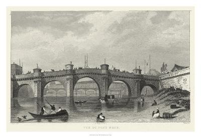 Vue Du Pont Neuf-A^ Pugin-Giclee Print