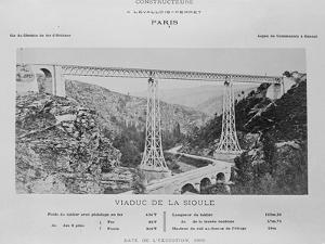 Vue générale du viaduc de la Sioule