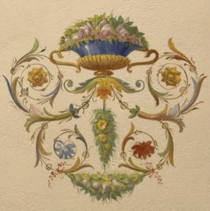 Vue intérieure : chambre à l'alcôve, occupée par Bonaparte à son retour d'Egypte.