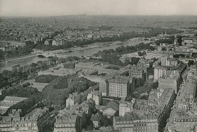 Vue Sur Les Champs-Elysees Et Le Sacre-Coeur Prise De La Tour Eiffel--Photographic Print