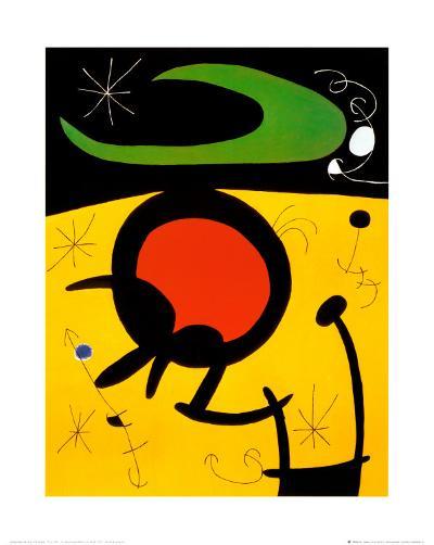 Vuelo de Pajaros-Joan Mir?-Art Print