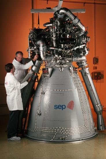 Vulcain Engine of Ariane 5-Roger Ressmeyer-Photographic Print