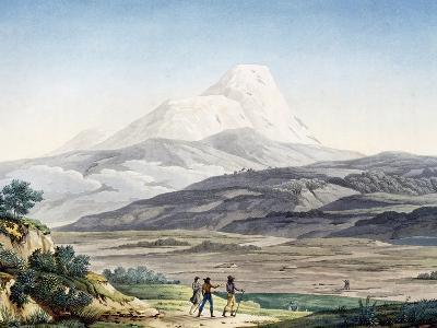 Vulcano Cayambe in Region of Quito, Ecuador-Alexander Von Humboldt-Giclee Print