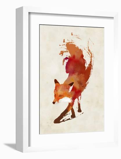Vulpes Vulpes-Robert Farkas-Framed Art Print