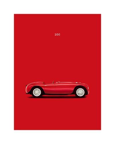 VW Ferrari 166-Mark Rogan-Giclee Print