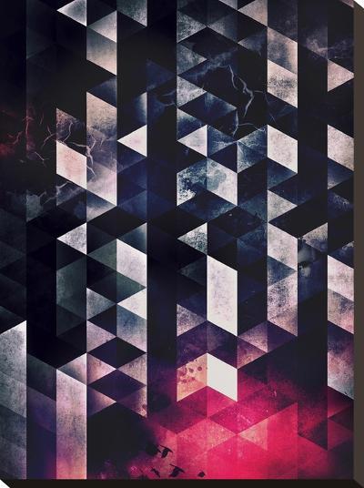 Vyktyry Yvvr Dyyth-Spires-Stretched Canvas Print
