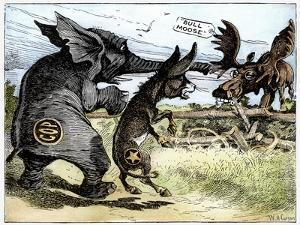 Bull Moose Campaign, 1912 by W.A. Carson