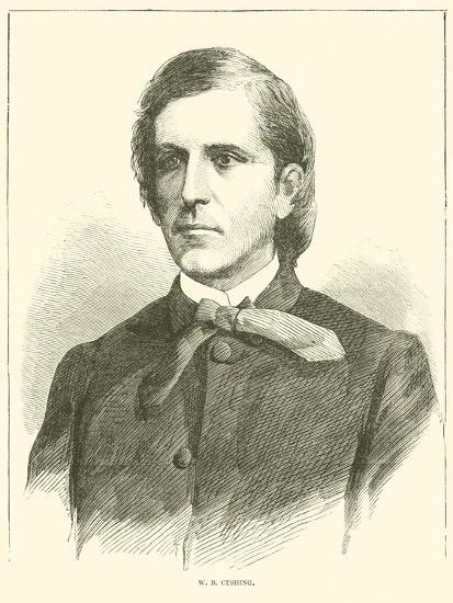 W B Cushing, October 1864--Giclee Print