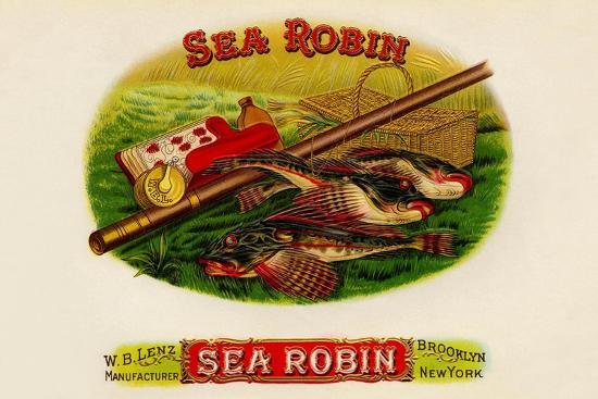 W.B. Lenz Sea Robin--Art Print