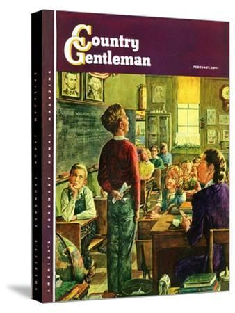 """""""Oral Report,"""" Country Gentleman Cover, February 1, 1947"""