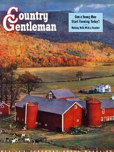"""""""Red Barns and Silos,""""October 1, 1949 by W.C. Griffith"""