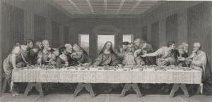 Jesus Said-One of You That Eateth with Me Shall Betray Me by W. Chevalier