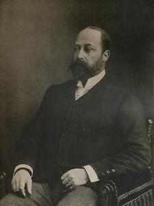 A private portrait of King Edward VII, c1890 (1911) by W&D Downey