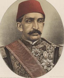 Abdul Hamid II, Ottoman Sultan by W&d Downey