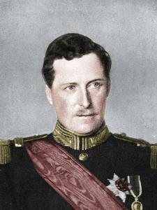 Albert, King of Belgium, First World War, 1914 by W&D Downey
