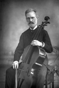 Carlo Alfredo Piatti (1822-190), Italian Violoncellist, 1890 by W&d Downey