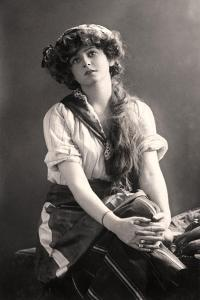 Gabrielle Ray (1883-197), English Actress, Early 20th Century by W&d Downey