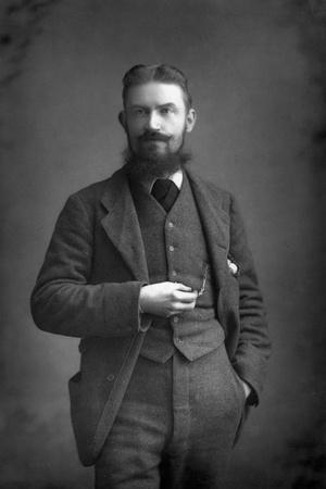George Bernard Shaw (1856-195) Irish Dramatist, Critic and Fabian, 1893