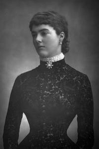 Georgiana, Countess of Dudley, 1890 by W&d Downey