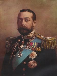 'H.M. King George V', 1917 by W&D Downey
