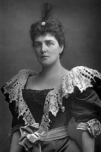 Lady Randolph Churchill (1854-192), American Society Beauty, 1893 by W&d Downey