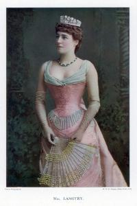 Lillie Langtry, British Actress, 1901 by W&d Downey