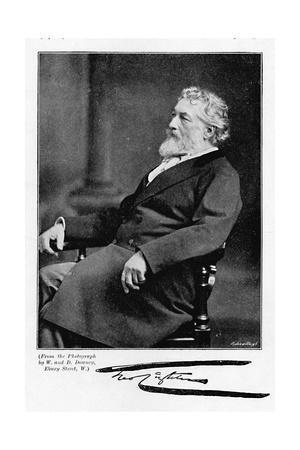 'Lord Leighton', c1890, (1896)