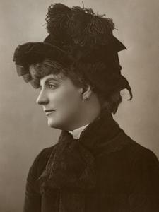 Miss Ada Rehan, Irish-Born American Actress, 1888 by W&d Downey