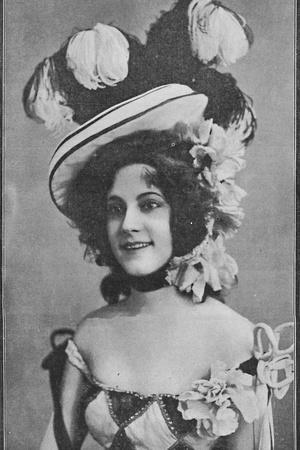 'Miss Mabelle Gilman, the Bewitching Girl in the Casino - The Casino Girl at the Shaftesbury', 1