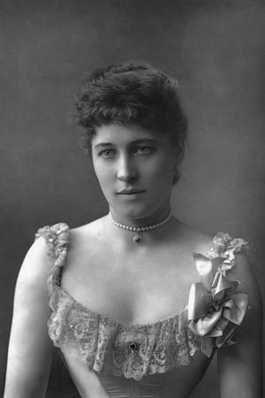 Mrs Lillie Langtry, British Actress, 1890
