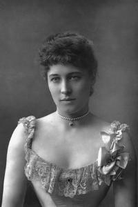 Mrs Lillie Langtry, British Actress, 1890 by W&d Downey