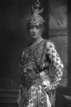 Sarah Bernhardt (1844-192), French Stage Actress, 1890