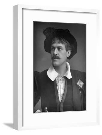 Sir George Alexander (1858-191), English Actor and Theatre Manager, 1893