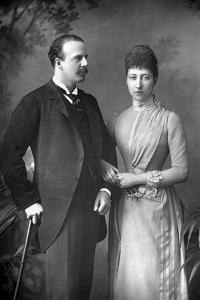 The Duke and Duchess of Fife, 1890 by W&d Downey