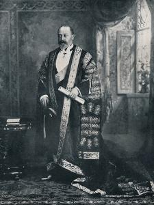 The Prince of Wales as a patron of the arts, 1896 (1911) by W&D Downey