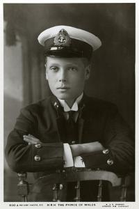 The Prince of Wales in Naval Uniform, C1910 by W&d Downey
