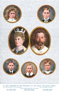 The Royal Family, c1935 by W&D Downey