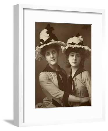 Two Roses'; Maude Millett and Annie Hughes, British Actresses, 1888