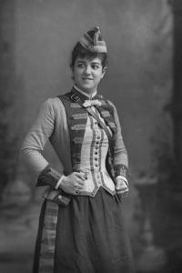 Zelie De Lussan (1861-194), American Mezzo-Soprano, 1893 by W&d Downey