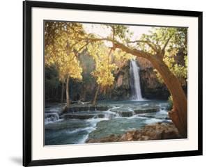 Havasu Falls by W. E. Garrett