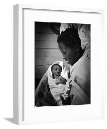 Nurse-Midwife Maude Callen Shows Smiling Alice Her Newborn Son