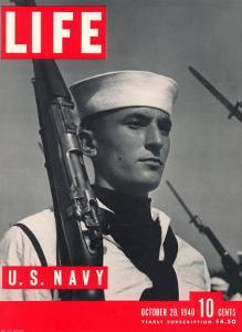 U.S. Sailor Joseph John Timpani, October 28, 1940 by W. Eugene Smith