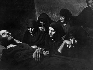 Women Mourning at Wake of Juan Larra by W. Eugene Smith