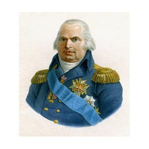 Louis XVIII, King of France, 19th Century by W Evans