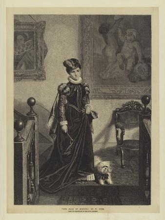 The Maid of Honour, from the Exhibition of the Royal Academy