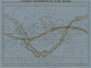 Celestial Planisphere by W.G. Evans