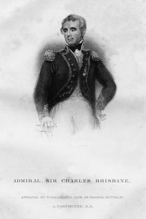 Admiral Sir Charles Brisbane (1769-182), 1837