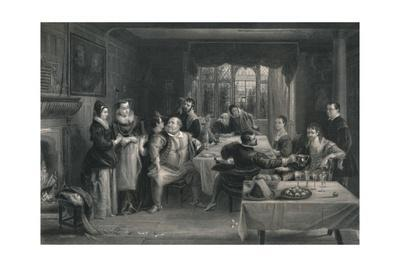 'Falstaff and his Friends (The Merry Wives of Windsor)', c1870