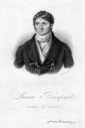 Lucien Bonaparte, Prince of Canino, 19th Century